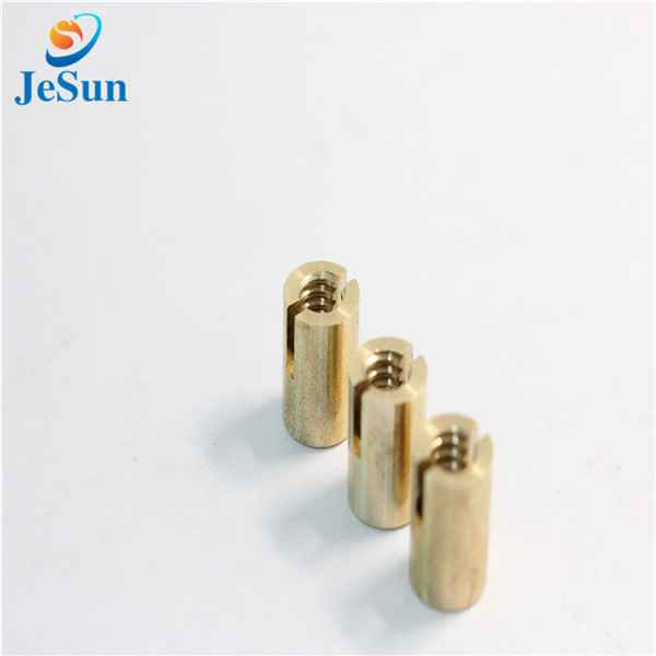 Custom CNC machine parts steel nut