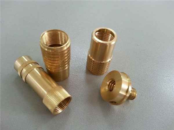 Made in china cnc machining parts special knueled screw