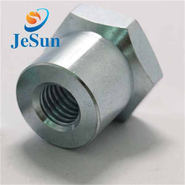 China manufacturing customized steel hex nut cnc369