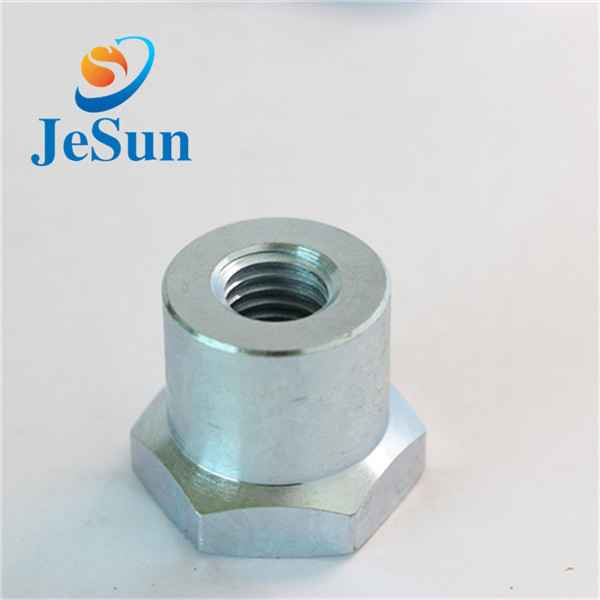 China manufacturing customized steel hex nut cnc370