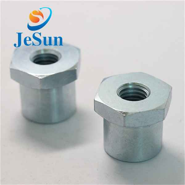 China manufacturing customized steel hex nut cnc372