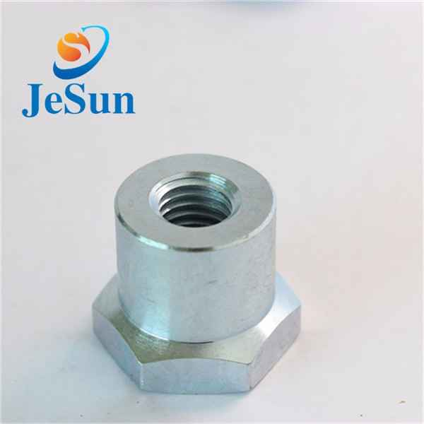 China manufacturing customized steel hex nut cnc373