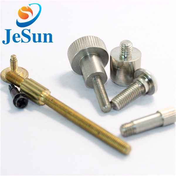 Guangdong manufacturing step screw cnc parts236