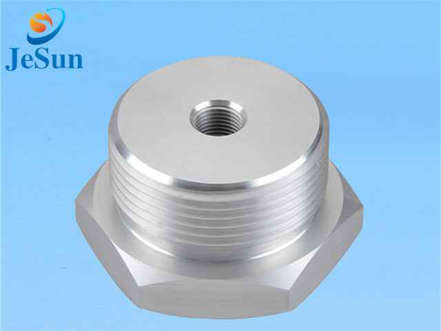 Special nut with inner hole thread cnc parts for sale