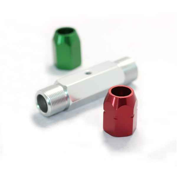 new products Aluminum milling parts with anodized302