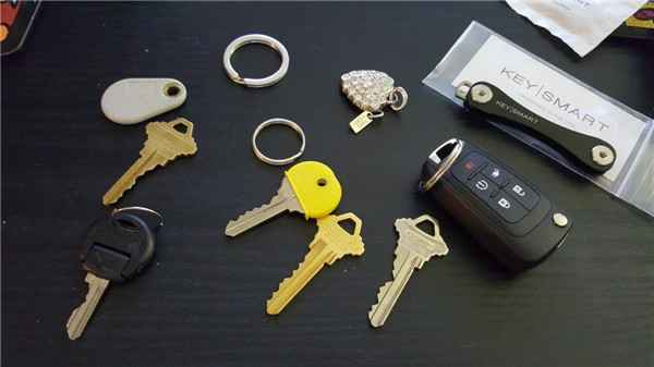 custom compact smart key holder organizer chain smart