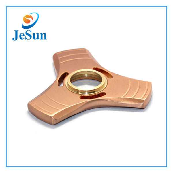 2017 hot new products brass fidget spinner