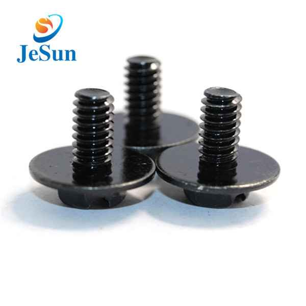 Black plating stainless steel customized machine screw1215