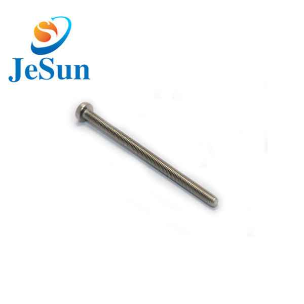 China OEM stainless steel screws machine bolt605