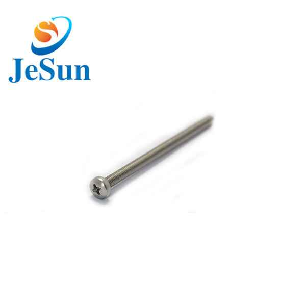 China OEM stainless steel screws machine bolt606