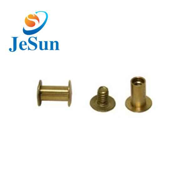 China custom good quality brass screws847