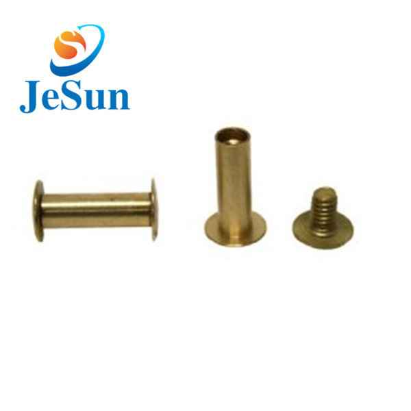 China custom good quality brass screws850