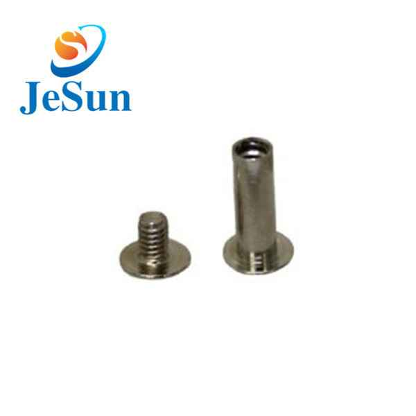 China custom good quality brass screws853