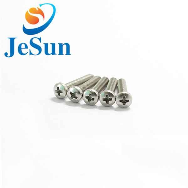 Custom manufacturing machine screws cross screw475