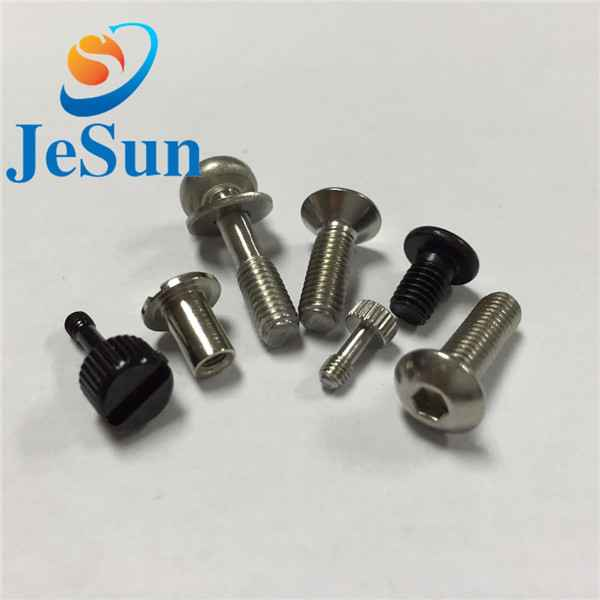 Customized screw with part thread special head1037