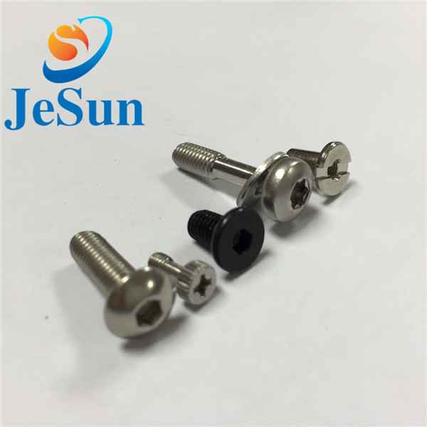 Customized screw with part thread special head1038