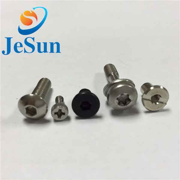 Customized screw with part thread special head1039