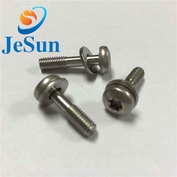 Customized screw with part thread special head1042