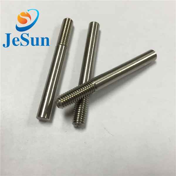 Customized special screw with part thread cnc1067