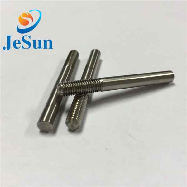 Customized special screw with part thread cnc1072