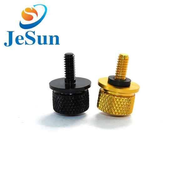 Customized thumb screw knurled screw cnc machining1022