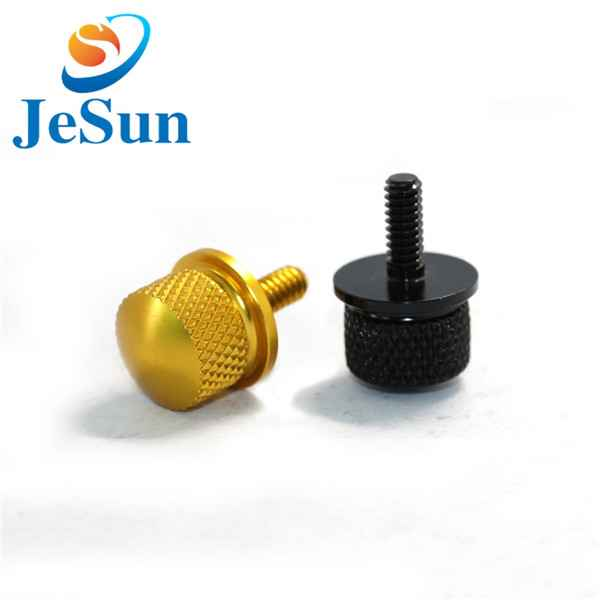 Customized thumb screw knurled screw cnc machining1024