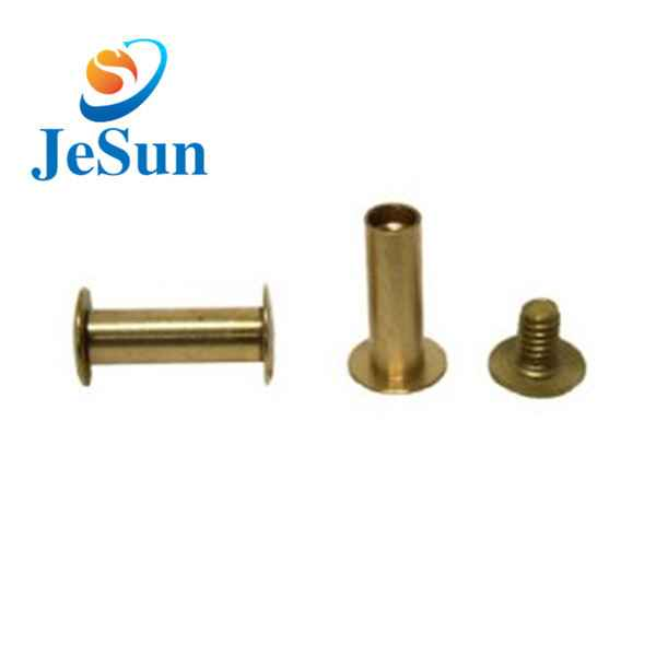 Good quality mini brass chicago screws868
