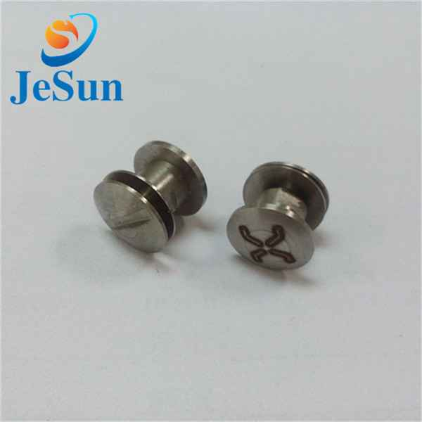 Good quality stainless steel slotted screw643