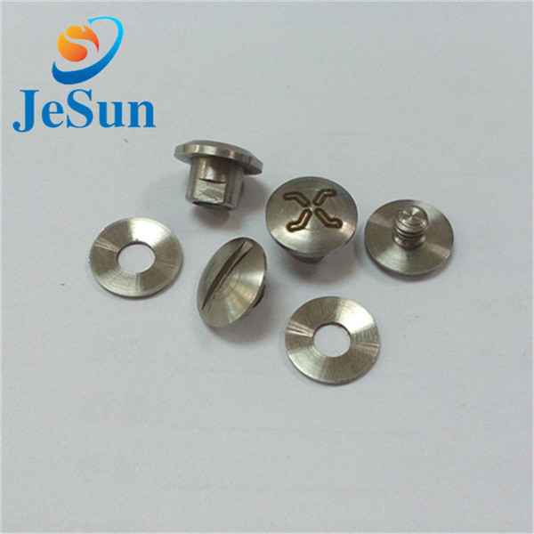 Good quality stainless steel slotted screw649