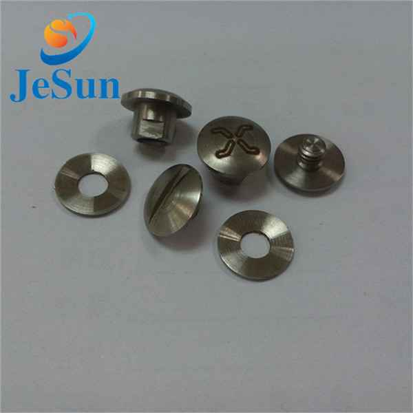 Good quality stainless steel slotted screw657