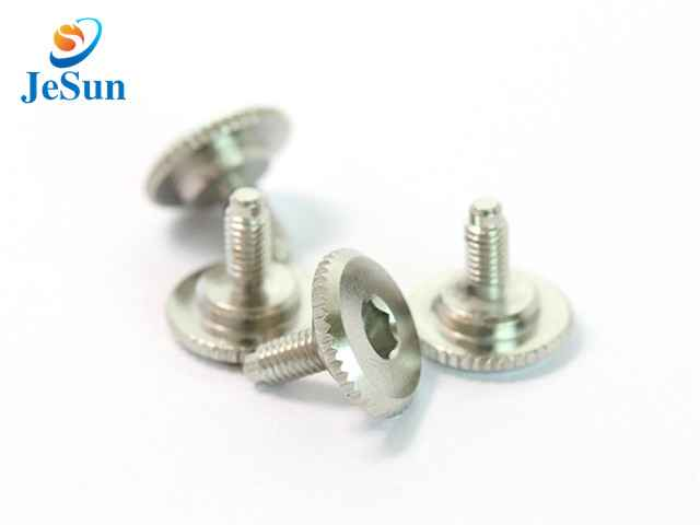 Red anodized thumb screws aluminum screws for sale