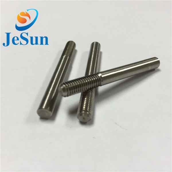 Special screw with part thread cnc machining976