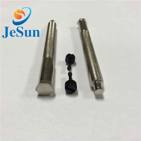 Special screw with part thread cnc machining982