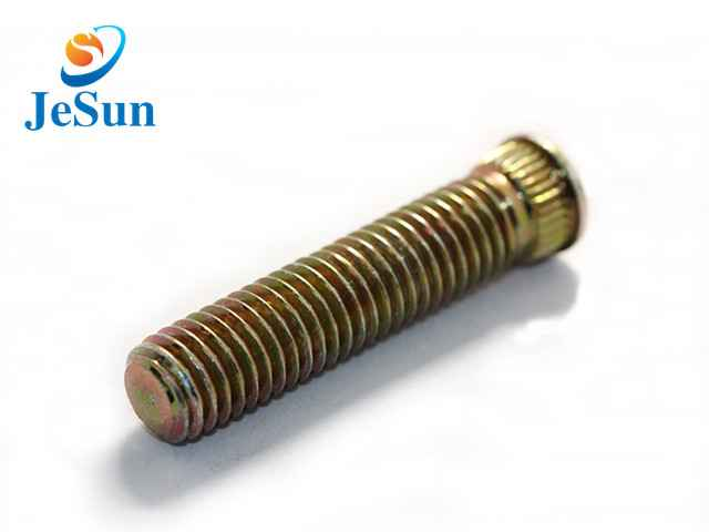 wholesales zinc plated set screw with washer for sale