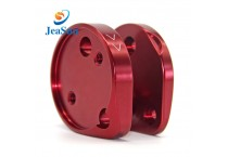 Customized CNC milling anodizing aluminum parts for fall protection equipment