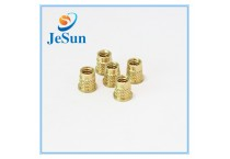 Knurling Brass Threaded Insert Nut