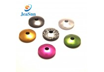 Manufacturer Supply anodized colored metal flat washers for Fishing Rod