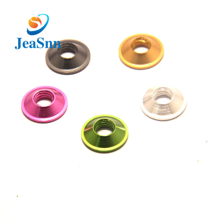 Aluminum Alloy Colorful Anodized Countersunk Washer