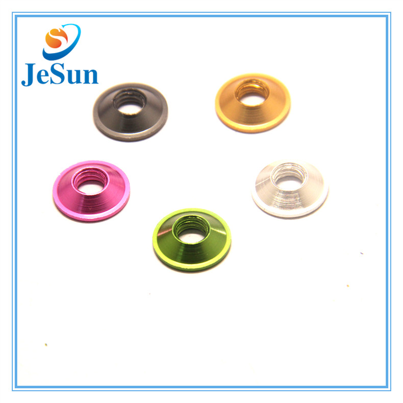 Aluminum Alloy Colorful Anodized Countersunk Washer in Swiss