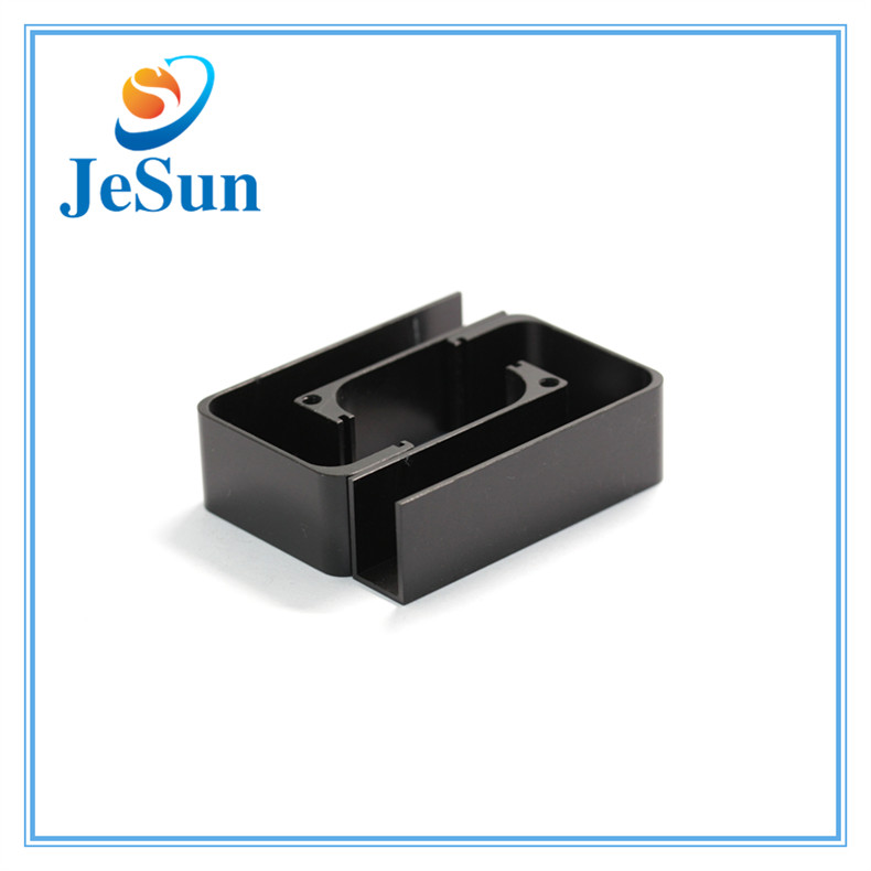 Aluminum CNC Machining Part with Black Anodize in Doha
