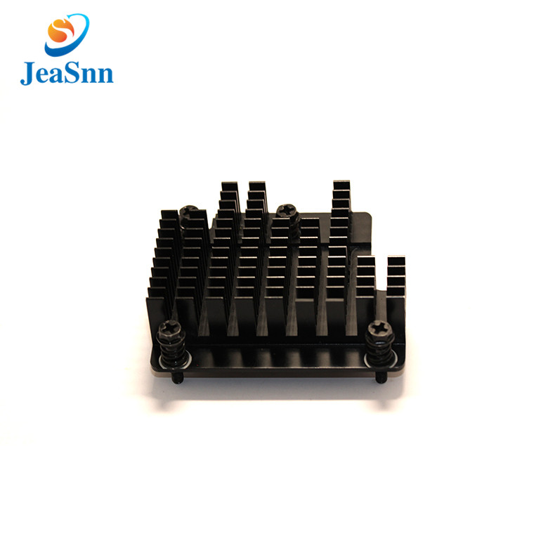 Anodizing Square Heat Sink Aluminum Projector Heatsink in USA