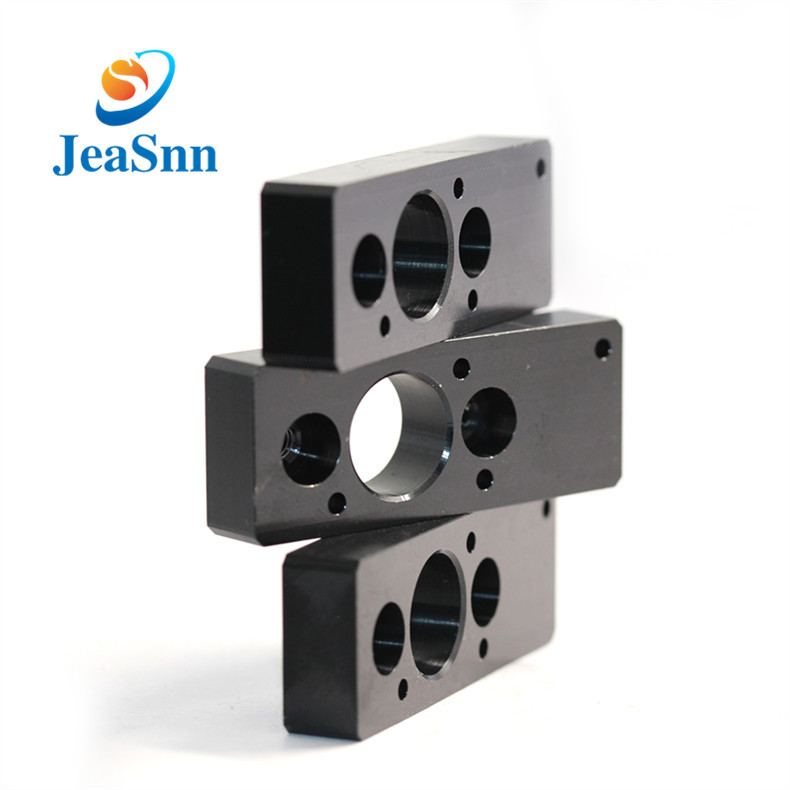 Black Anode Cnc Machining Aluminum Parts