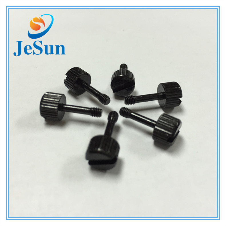 Black Nylon Machine Screws Binding Head Slotted Screws in UAE