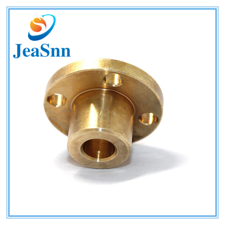 Brass Custom Made CNC Machine Parts in Vancouver