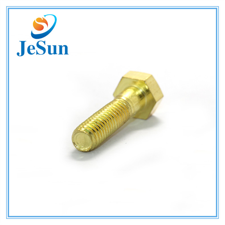 Brass Hex Cap Screw with ISO Certificate in Sweden