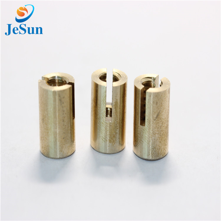 Brass CNC Lathe Parts in Singapore