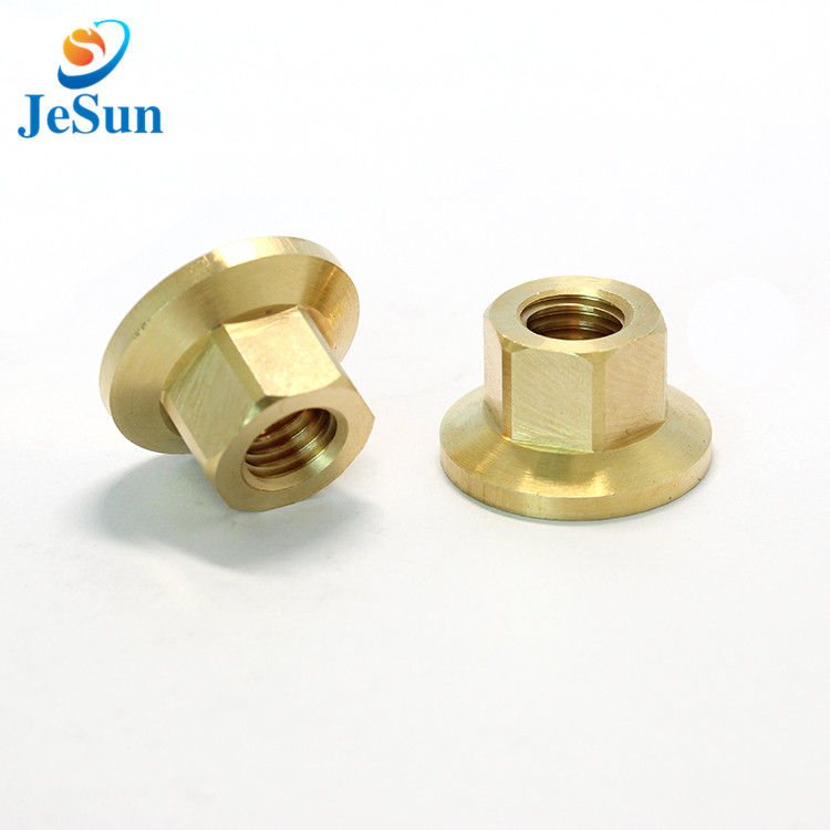 Brass CNC Machine Parts in Swiss