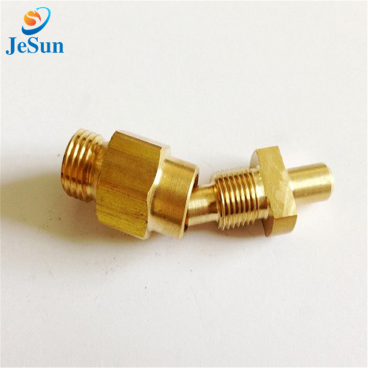 Cheap cnc brass machine parts in Swiss