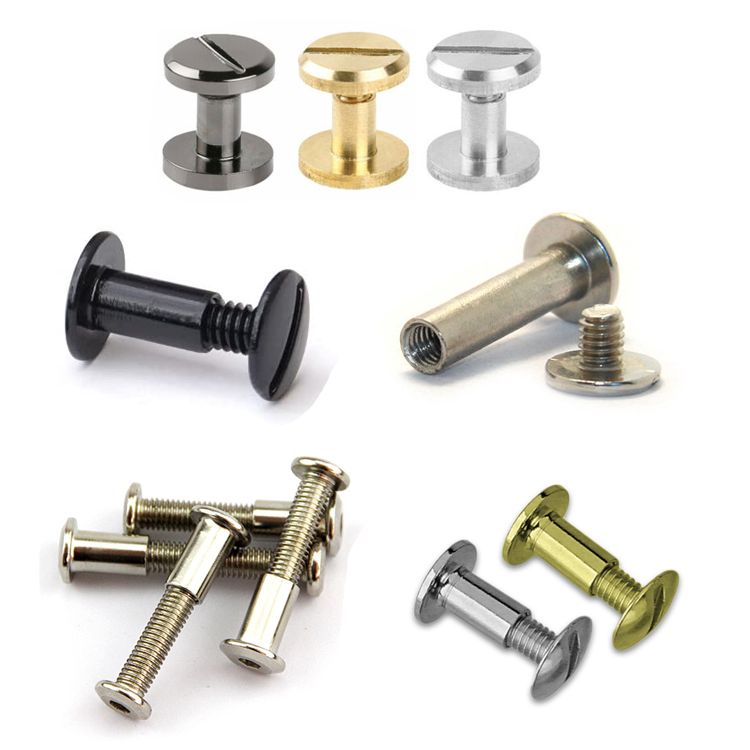 Chicago book binding Screw Sex Bolts Male and Female Screw Fasteners