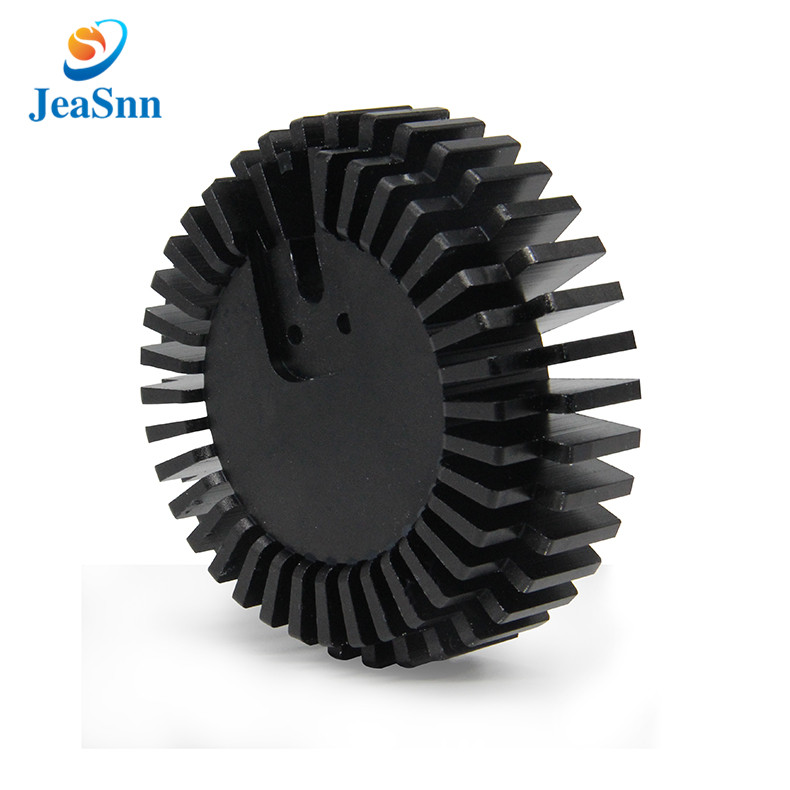 China Custom Led Heat Sink Round Aluminum Heatsink